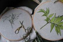 Ricami idee e spunti / Idee per i ricami a punto erba e a punto pieno.. / by Luisa Ferrigno