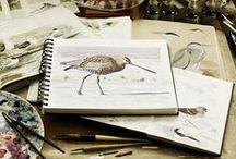"""Notebooks etc. / Notes, sketches, drawings, ideas, wisdom... """"A Forest of Things"""""""