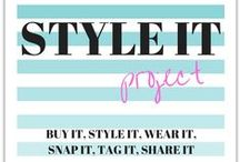 Kimba Likes Style it Project / Sharing style for Style it Project, a monthly style blog project.
