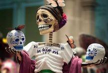 Day of the dead / ¡El día de los muertos!  / by Paola Toledo