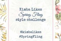 Kimba Likes Style File Challenge / Spring Fling Style File Autumn Style File Winter Style File Summer Style File