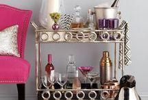 Bar Cart + Style♥
