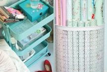Organisation / I wonder what my room would be like if I did these?