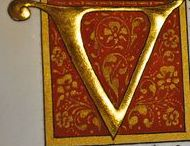 Illumination / Illuminated Manuscripts, Monograms and Calligraphy
