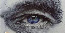 ART /  Pencil and pen sketches, paintings, digital art....