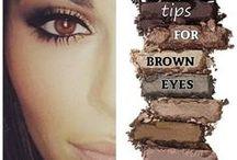 Beauty + Make-up / Beauty looks ... make-up tips.
