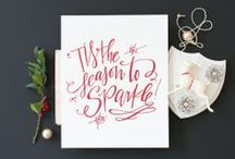 Holiday Happiness / I love Christmastime, so here are some favorite recipes, decorations, DIY projects to make your season bright - :)