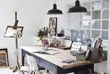 craft room/home office inspiration / by Stacy Naeve