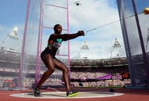 ATHLETES & 2012 OLYMPIC GAMES / Olympic Althetes and the 2012 UK olympics / by Christopher Monk