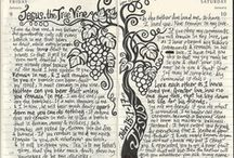Journals & Journaling / For my new past-time and devotionals. / by Wendy Mann