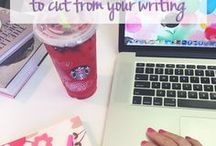 Blogging + Writing / Ideas and inspiration for my personal brand & blog plus tips for everyone!