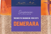Guyanese Inspired Demerara / Our Guyanese journey is inspired by a 17th century cultivation on the banks of what is now known as the River Demerara. Ever since, the sugar cane fields have proliferated across Guyana. Demerara is a fruity, sweet-spiced sugar with large glassy amber crystals providing a distinctive textual crunch. Medium Bodied Fruity, Flavour Strength 3. To discover more recipes visit tasteandsmile.com