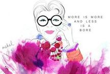 FASHION ILLUSTRATIONS / An Art All It's Own / by Susan