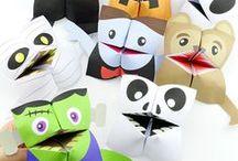 PLAY   Halloween Fun / Fun activities for kids and parents to do around Halloween.