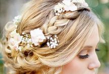 Flowers For Your Hair / Flower ideas for your hair by Beautiful Blooms by Jen and others.