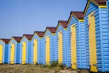 Colors at the beach / Best pictures of color compositions at our beautiful beaches. Colorful Bikini´s, Colorful Beach Cottages, Colorful Beach Towels, Colorful Beach Chairs and many more colorful Beach Settings....