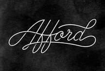 Lettering and typography / Graphic design, lettering and typography. Tipografías, letras, ilustraciones, diseño gráfico
