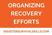 Organizing Recovery Efforts