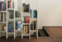 interiores - vivienda - biblioteca en casa / by Elisa Lara