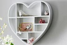 """Love & helline / Décoration """"amour"""" et déclarations d'amour - On aime vous aimer chez helline !  Découvrez nos objets de décoration en forme de coeur, des t-shirt imprimé coeur : une mode passion et décoration romantique et plein d'autres preuves d'amour avec helline"""