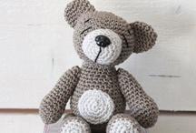 ♛ Haken beestjes en zo... (Crochet) / by Veerle Roels