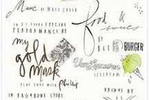 Fonts I Adore