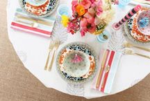 Tables, Decor and Settings