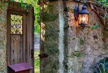 Gardens - Gates, Walls & Doorways