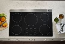 "The Need for Speed / Dacor® Renaissance® 36"" and 30"" Induction Cooktops Perform at Twice the Speed of Gas / by Dacor"