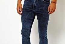 Jeans / Jeans and all types of trousers.