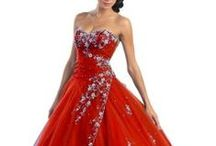 Red prom dresses / Cutest bright red prom dresses 2015. Red formal prom homecoming special occasion dresses for junior prom, senior prom graduation dresses on a special day in Red / by My Fashion Ten