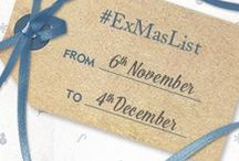 #ExMasList / What do you really want for Christmas? Using #ExMasList, share a picture of the gift that would make your Christmas on Facebook, Twitter, Instagram or Pinterest. Our Exclusive elves will be watching to pick a winner for an Exclusive break... and your Christmas wish might come true!