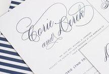Navy Blue Themed Weddings