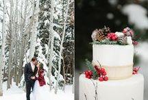 Christmas Themed Weddings & Decorations