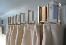 Curtains, blinds, verhot