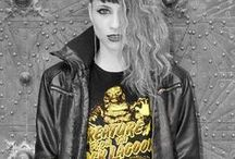Leviathan© Co. Women T Shirts / Women T Shirts by Leviathan© Co. Camisetas rock&roll, rockabilly, motorcycle, music bands