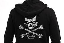 Leviathan© Co. Men Hoodies / Hoodies by Leviathan© Co. Sudaderas RocknRoll, Rockabilly, Psychobilly, Motorcycle, Music Bands
