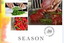 Season, The Exclusive Cookery School / Situated in the stunning grounds of Lainston House, an Exclusive Hotel, Season was born out of our great passion for food and dining. Call us on 01962 776088 to book your place now or explore the classes:   exclusive.co.uk/season