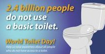 #WorldToiletDay / 2.5 Billion people worldwide do not have access to proper sanitation, polluting the