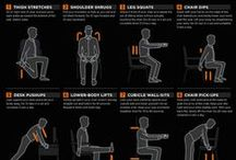 Healthy at Work : Office Ergonomics / Office ergonomics and how to stay happy and healthy at work