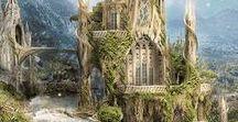 Mystik + Fantsy / magische Wesen und geheimnisvolle Landschaften