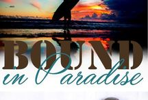 Bound in Paradise / Storyboard for the contemporary erotic romance + bondage ebook I wrote.