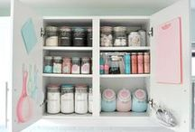 organisation / DIY organisation, tips / by Sapristipopette - By Geekygirl