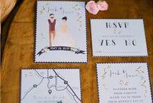 Mariage / Wedding beautiful inspirations. Le plus beau jour de notre vie ... Mariage !