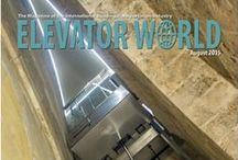 Products We Publish / Elevator World, Inc. has been the premier publisher for the international building transportation industry since 1953. In addition to ELEVATOR WORLD (print and digital format) and ELEVATOR WORLD India magazine and ELEVATOR WORLD Turkey, the company also publishes books, posters and software to educate the industry as well as the Elevator World Source© (International) - the only directory to connect the industry.