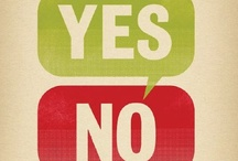 Yes/No / The Yes/No Book by Mike Clayton is on sale now.  http://theyesnobook.co.uk