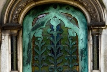Entry Ways / A variety of exterior entrances; doorways, openings, portals, passages... / by Lisa A. Franklin