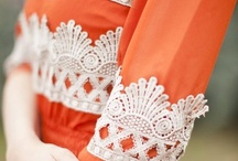 Lace Luxe / Beautiful netlike ornamental fabric sewn by hand or machine / by Lisa A. Franklin