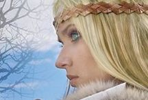 GOD'S DAUGHTER Inspirations--#Vikings of the New World Saga, Book One / Pictures I used when imagining my Viking historical novel, GOD'S DAUGHTER. Gudrid is the main character, and many of the events in this book are straight out of the Icelandic sagas.
