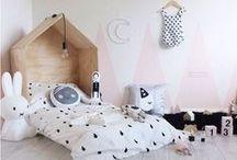 Kid Room Bedroom / playroom / Kids beautiful spaces... beautiful bedroom for kids, children… Rooms, playrooms.
